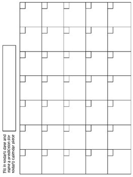 2nd Grade Calendar Booklet *WHOLE YEAR* {Everyday Counts Calendar Math}