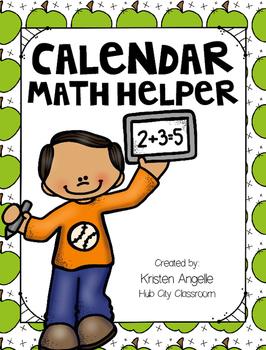 2nd Grade Calendar Math Helper (FREEBIE)