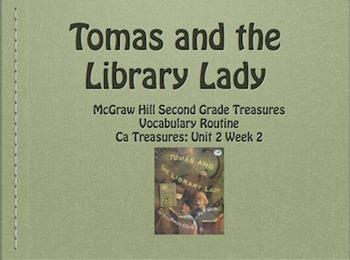 2nd Grade: California Treasures Unit 2 Vocabulary Presentation Bundle