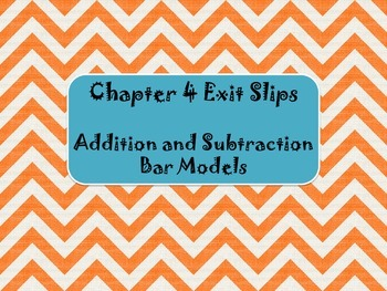 2nd Grade Chapter 4 Math in Focus Daily Exit Slips