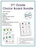 2nd Grade Choice Boards Bundle