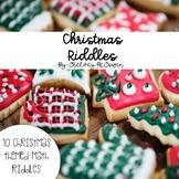2nd Grade Christmas Math Riddles