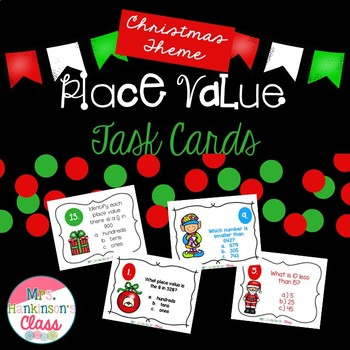 2nd Grade Christmas Place Value Unit