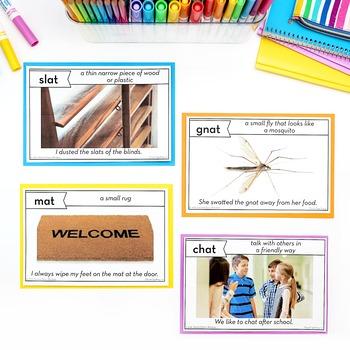 Chunk Spelling Word Families Word Work