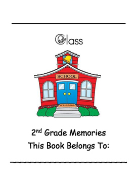 2nd Grade Class Memories Student Yearbook