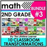 2nd Grade Classroom Transformations   Bundle #3