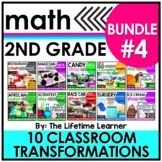 2nd Grade Classroom Transformations   Bundle #4