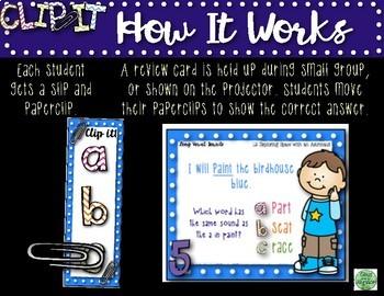 2nd Grade Clip-It Phonics Review BUNDLE!