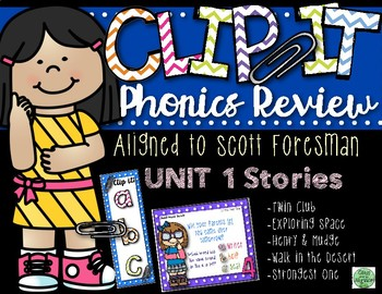 2nd Grade Clip-It Phonics Review: SF Unit 1