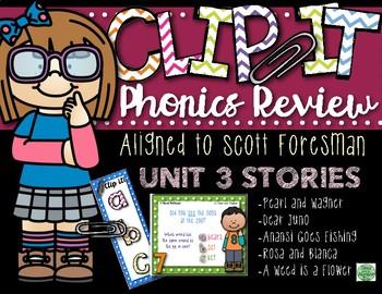 2nd Grade Clip-It Phonics Review: SF Unit 3