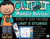 2nd Grade Clip-It Phonics Review: SF Unit 5