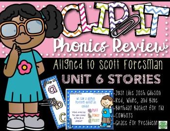 2nd Grade Clip-It Phonics Review: SF Unit 6