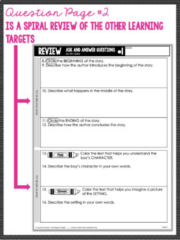 2nd Grade Close Reading - Informational AND Literature BUNDLE (95 passages)