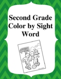 2nd Grade Color By Sight Word