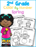 2nd Grade Color by Number - Addition and Subtraction Pract