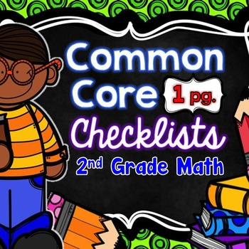 Common Core Math Checklists - 2nd Grade