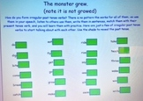 2nd Grade Common Core 2.L.1d Irregular Past Tense Verbs SMARTBoard file