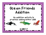 2nd Grade Ocean Friends Addition