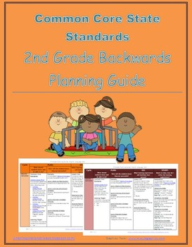 2nd Grade Common Core Backwards Planning Guide