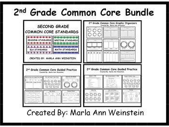 2nd Grade Common Core Bundle
