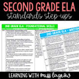2nd Grade Common Core CCSS ELA Standards Step-Ups Referenc