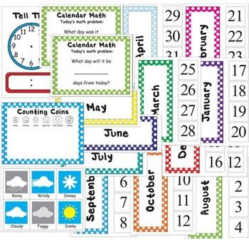 2nd Grade Common Core Calendar Journal