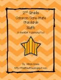 2nd Grade Common Core Checklist | Math
