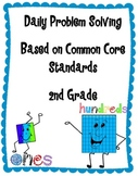 2nd Grade Common Core Daily Problem Solving Math - Quarter 1