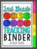 2nd Grade Common Core Data Tracking Binder {EDITABLE!}