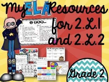 2nd Grade Common Core ELA Activities
