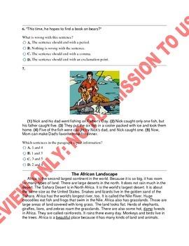 2nd Grade Common Core ELA Benchmark Assessment