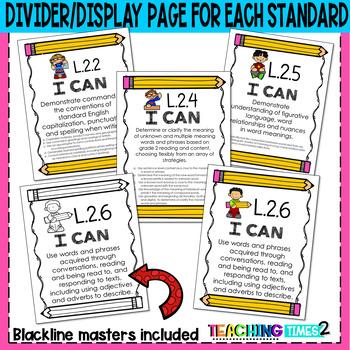 2nd Grade Common Core ELA Assessments-Language