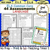 2nd Grade Common Core ELA Assessments-Language