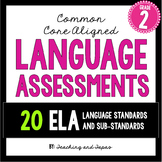 2nd Grade Common Core ELA Language Assessment