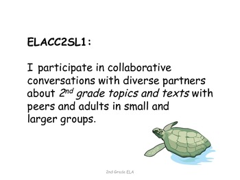 2nd Grade Common Core ELA Standards for Posting--Reptiles and Amphibians