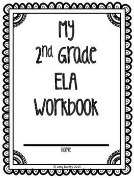 2nd Grade Common Core ELA Workbook and Assessments