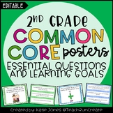 2nd Grade EDITABLE Essential Questions & Learning Goals