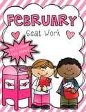 2nd Grade Common Core: February Morning Seat Work Packet
