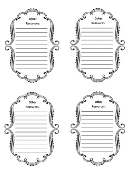 2nd Grade Common Core File Labels