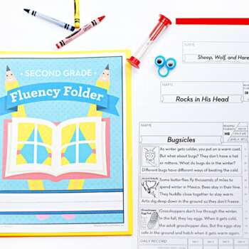 2nd Grade Fluency Passages • 2nd Reading Comprehension Passages ...