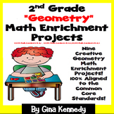 2nd Grade Geometry Math Enrichment Projects