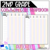 2nd Grade Common Core Gradebook, Standards Based Gradebook
