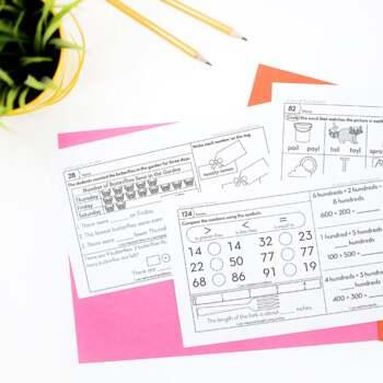 2nd Grade Homework by Second Story Window | Teachers Pay Teachers