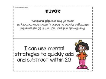 "2nd Grade Common Core ""I Can"" Standards Posters {ELA & MATH BUNDLE}"