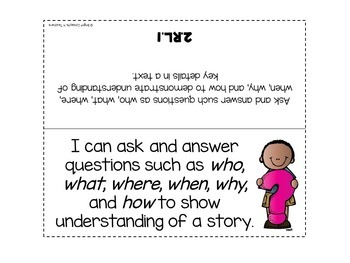 "2nd Grade Common Core ""I Can"" Standards Posters {ELA ONLY}"