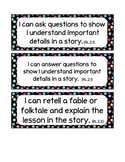 2nd Grade Common Core I-Can statements- Polka Dots