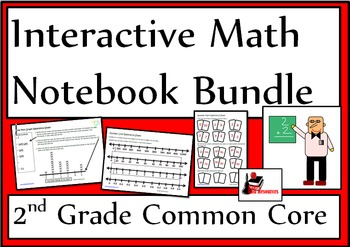 2nd Grade Common Core Interactive Math Notebook Bundle