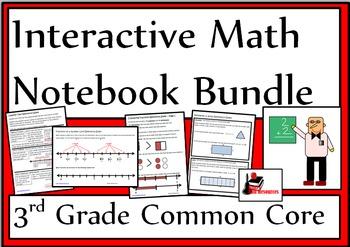 3rd Grade Common Core Interactive Math Notebook Bundle