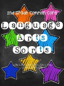 2nd Grade Common Core Lang. Sorts