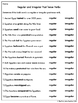2nd Grade Common Core Language (Grammar)